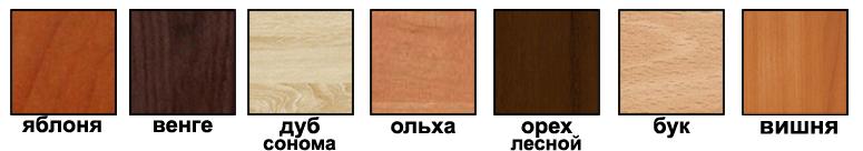 Цвет корпуса комодов и столов