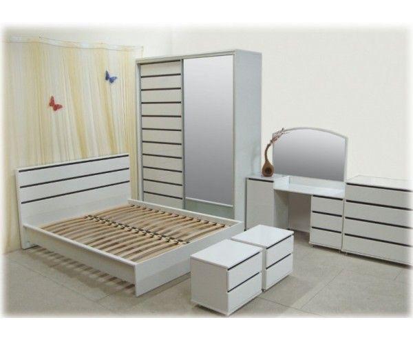 спальня прага белая простомебли купить цена стоимость в харькове
